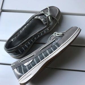 Sperry cute summer loafer new like mesh shoe 9